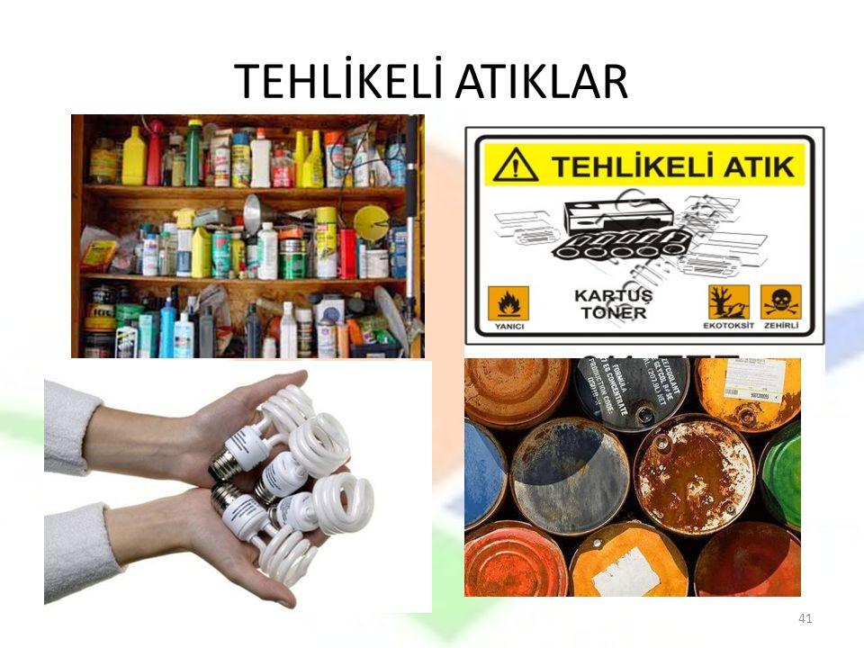 TEHLİKELİ ATIKLAR 41