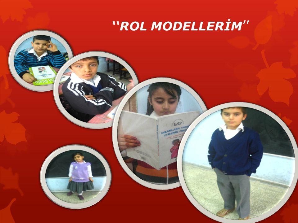''ROL MODELLERİM ''