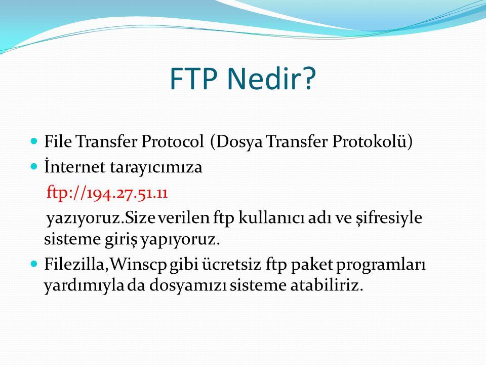 FTP Nedir.