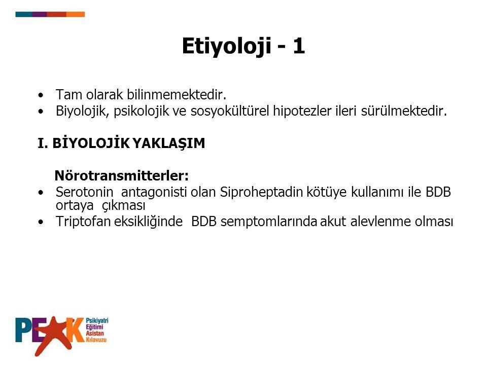Etiyoloji - 12 III.