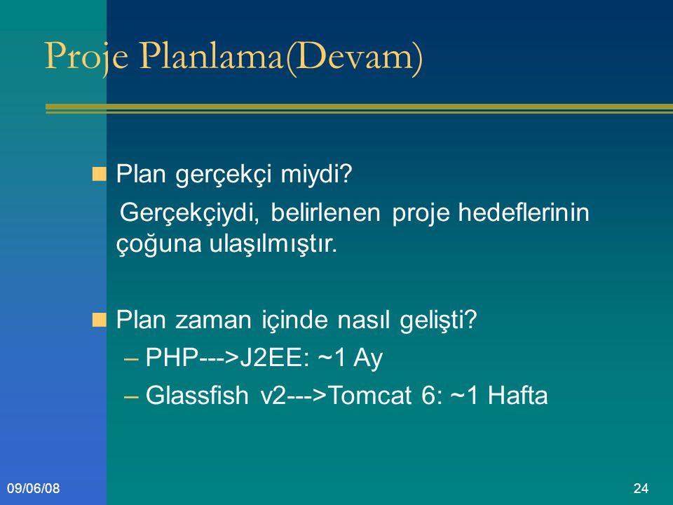 2409/06/08 Plan gerçekçi miydi. Gerçekçiydi, belirlenen proje hedeflerinin çoğuna ulaşılmıştır.