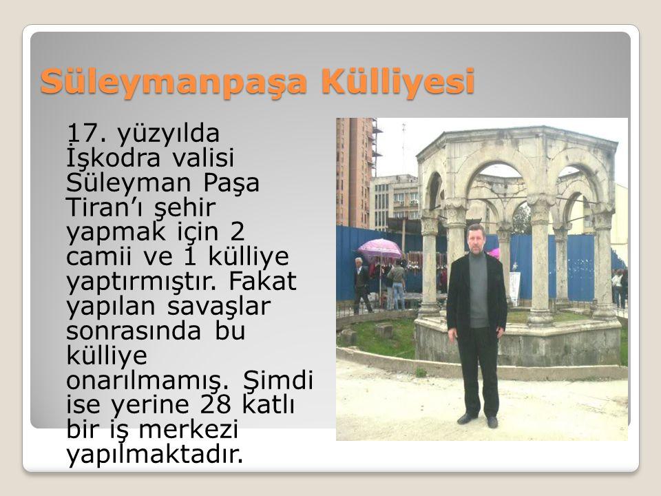 Süleymanpaşa Külliyesi 17.