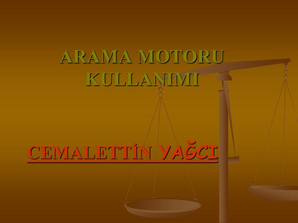 ARAMA MOTORU NASIL KULLANILIR.1-Anında Arama (Instant Search) Kutusunu Kullanın.