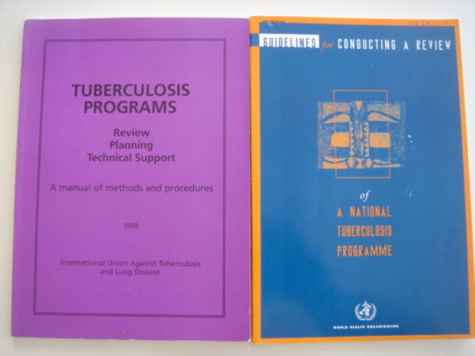 Ulusal Kontrol Programı Değerlendirme (UKPD) National Tuberculosis Control Programme (NTP)Review 1990-1995 yılları arasında DSÖ 12 ülkede UKPD yaptı.