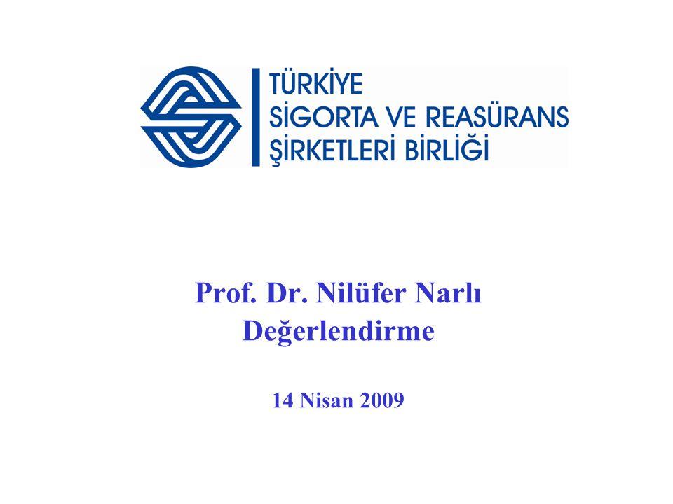 Prof. Dr. Nilüfer Narlı Değerlendirme 14 Nisan 2009