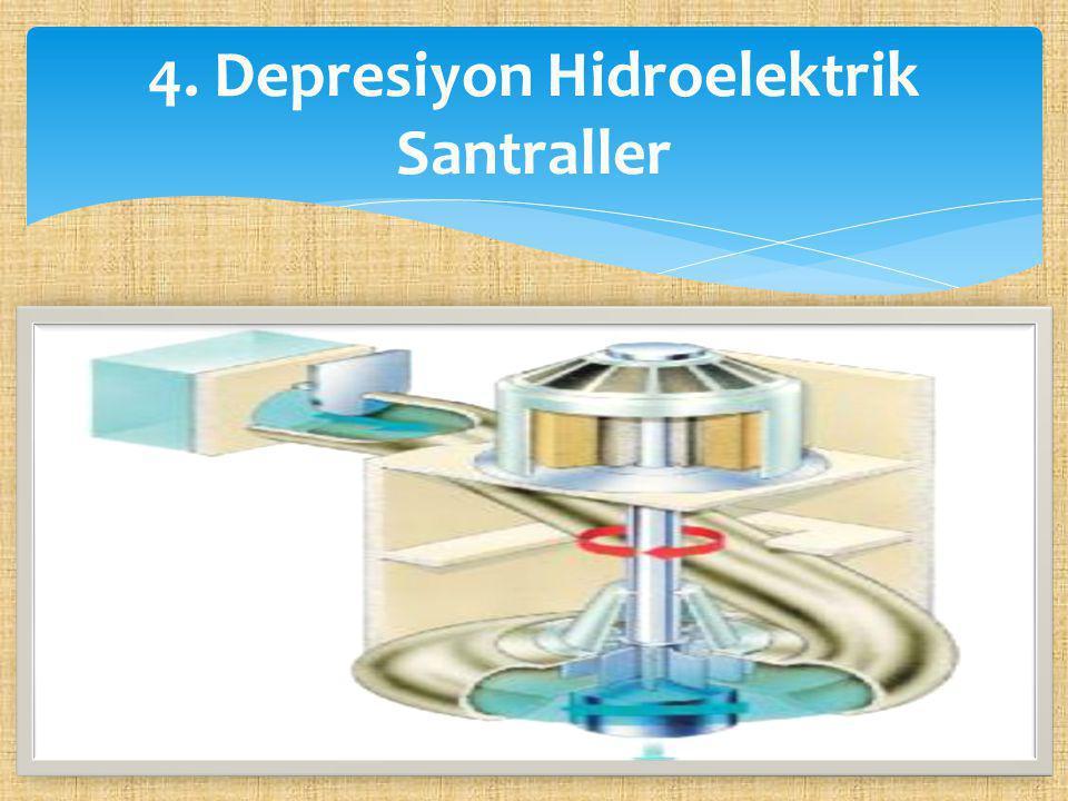  Denizden alçakta olan çöllerde veya denize kıyısı olan çok sıcak bölgelerde, suyun fazla buharlaşmasından yararlanılarak elektrik üreten santrallerdir.