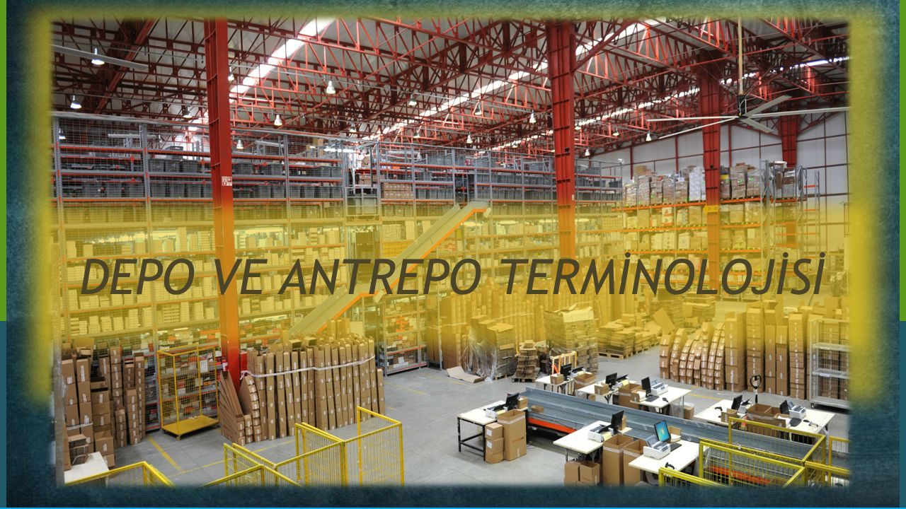 Depo Depolar ürünlerin ham madde aşamasından ürün aşamasına kadar toplu olarak korunduğu ve ambalajlama, paletleme, etiketleme gibi çeşitli işlemlerin yapıldığı açık ve kapalı alanlardır.