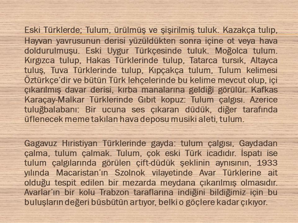 Resim: Azerbaycan Cumhuriyeti'inde Türklere ait mezarlarda yapılan kazılarda çıkan tulum resmi, uzmanlara göre yaklaşık 1340 yıllık olduğu tahmin edilmektedir.