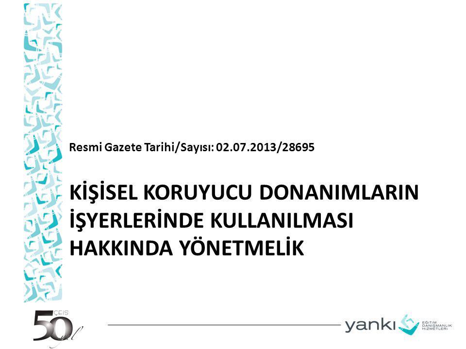 KİŞİSEL KORUYUCU DONANIM LİSTESİ 2.KULAK KORUYUCULARI 2.1.