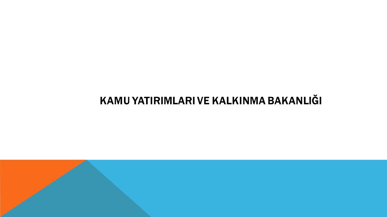 ONUNCU KALKINMA PLANININ POLİTİKALARI  Kamu yatırımları, bölgeler arası gelişmişlik farklarını azaltmayı ve bölgesel gelişme potansiyelini değerlendirmeyi hedefleyen alanlara yönlendirilmeye devam edilecektir.