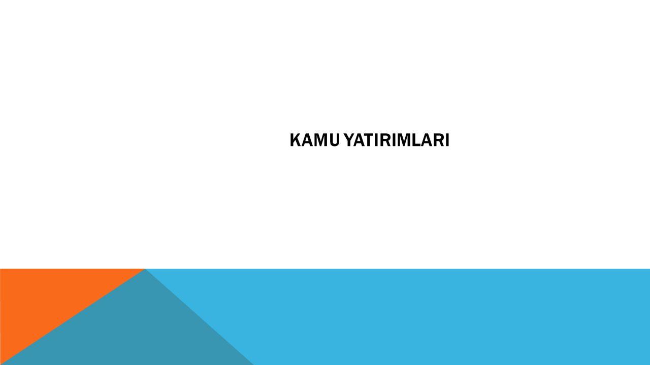 KAMU YATIRIMLARI
