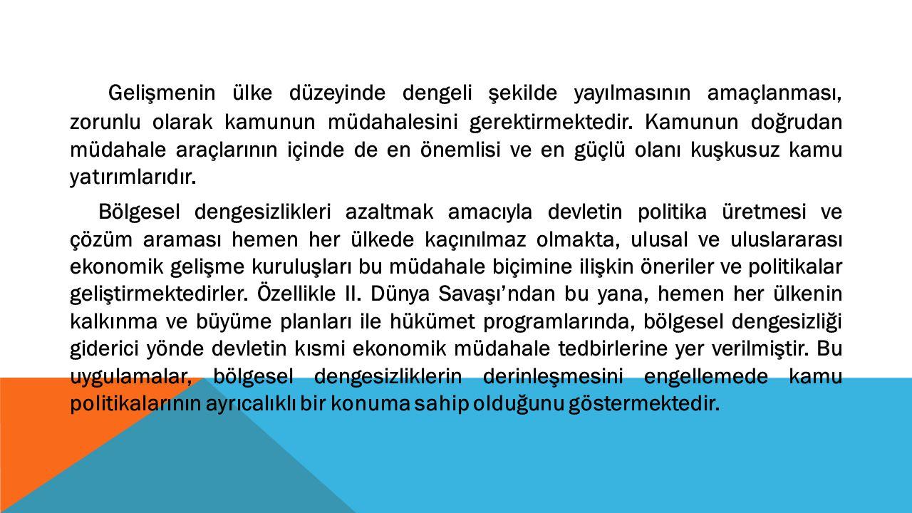 AMACI Türkiye'de iktisat politikalarında tutarlılığın sağlanması, Türkiye'nin jeostratejik konumu, kültürel konumu ve ekonomik ve sosyal alanda sağlayacağı gelişmeler sonucu 2010'larda bölgesel bir güç olarak etkinliğini daha da arttırması, 2020'lerde ise küresel bir güç olması hedeflenmektedir.
