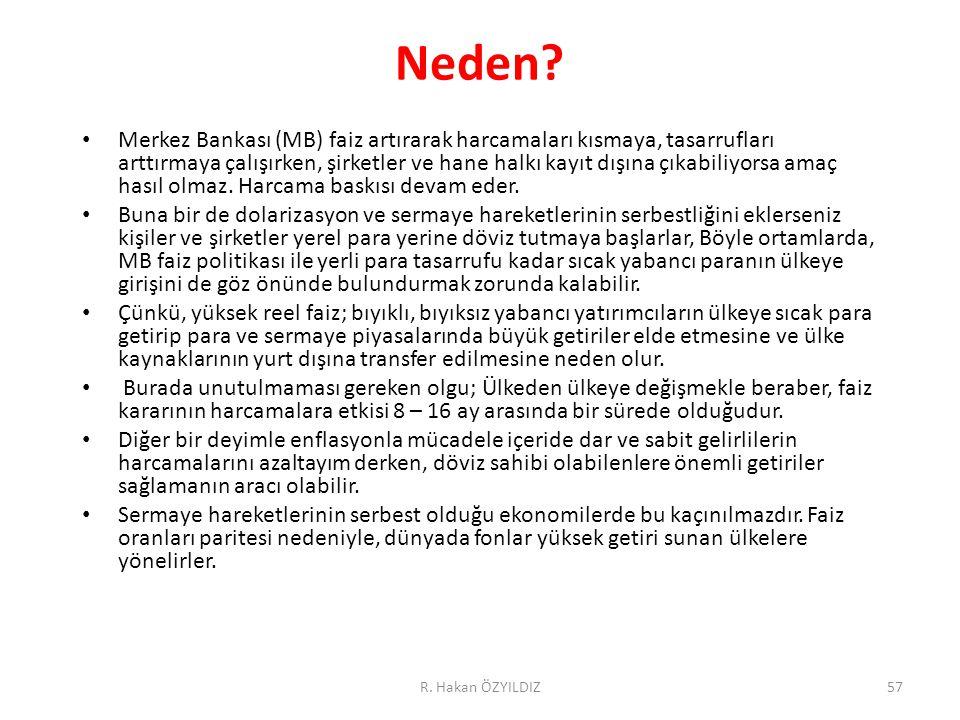 R. Hakan ÖZYILDIZ57 Neden.