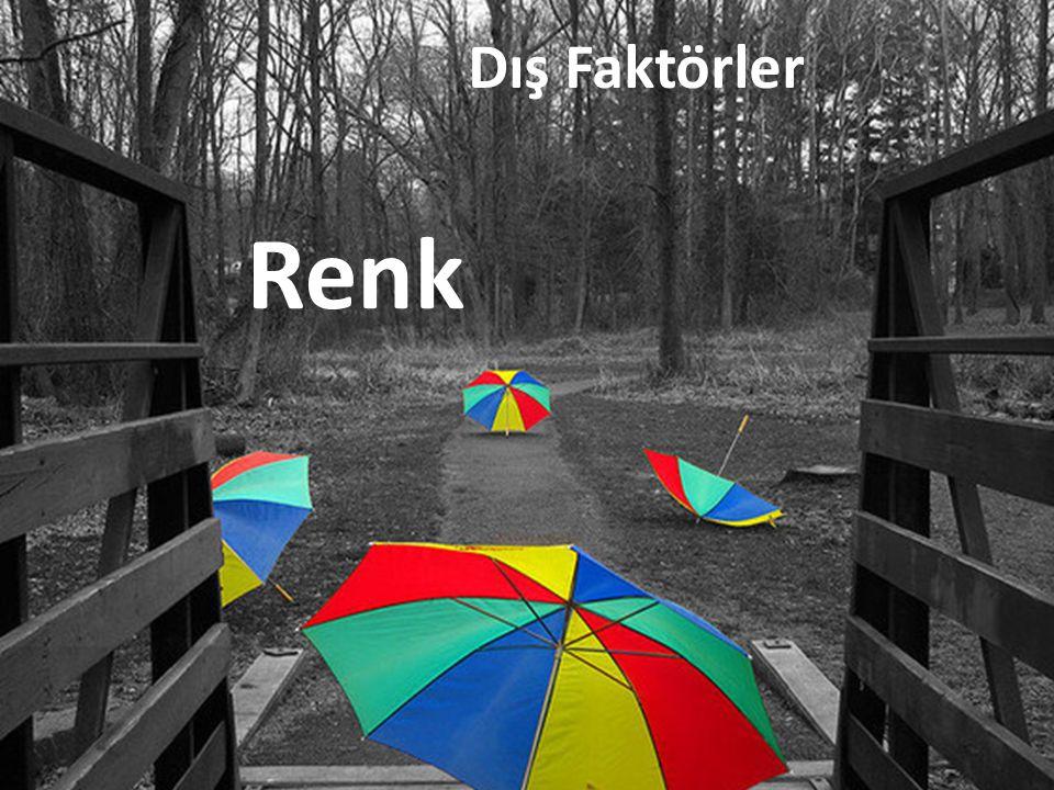 Dış Faktörler Renk
