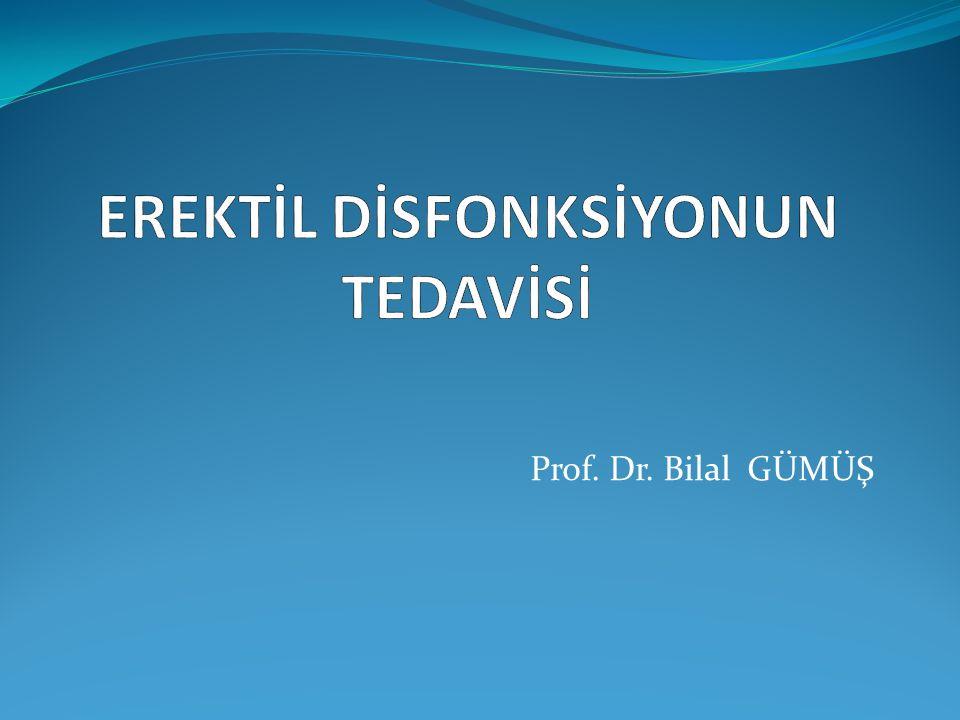 Prof. Dr. Bilal GÜMÜŞ