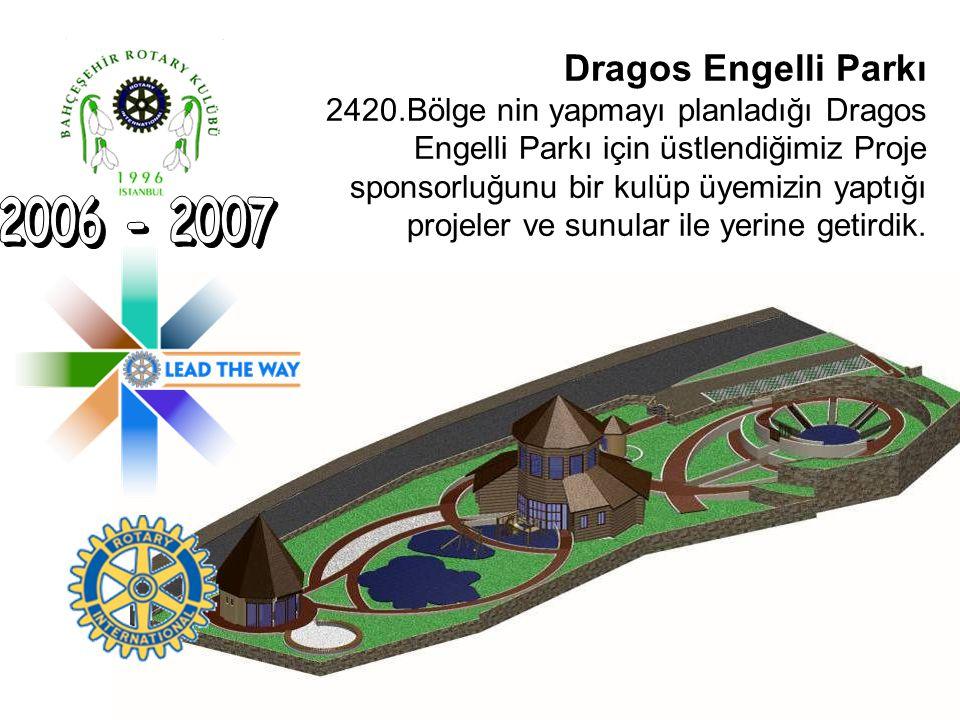 Dragos Engelli Parkı 2420.Bölge nin yapmayı planladığı Dragos Engelli Parkı için üstlendiğimiz Proje sponsorluğunu bir kulüp üyemizin yaptığı projeler
