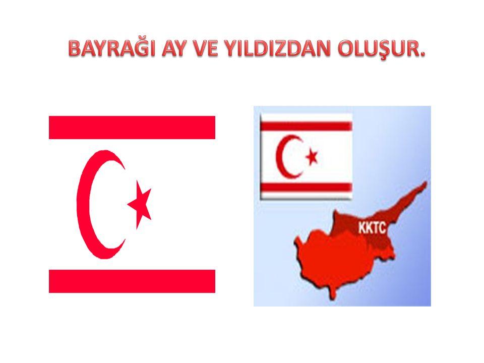 Kıbrıs Bayrağında hangi semboller bulunur?