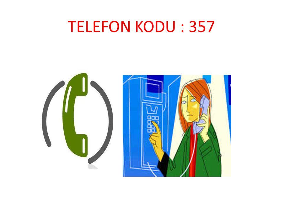 TELEFON KODU : 357