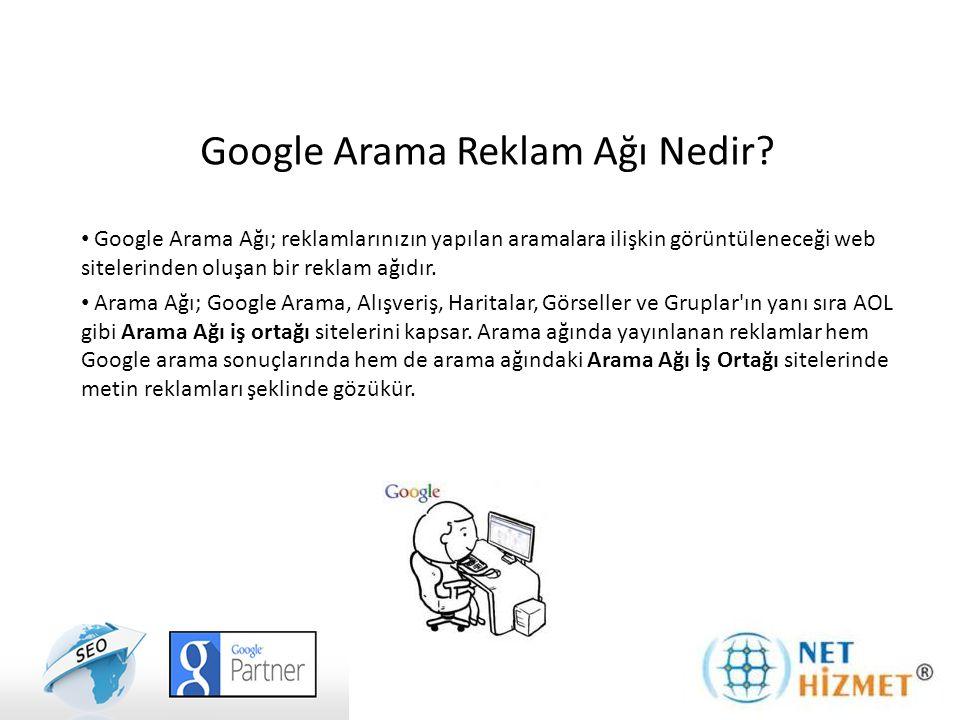 Google Arama Ağı Reklamları Neden Önemlidir.