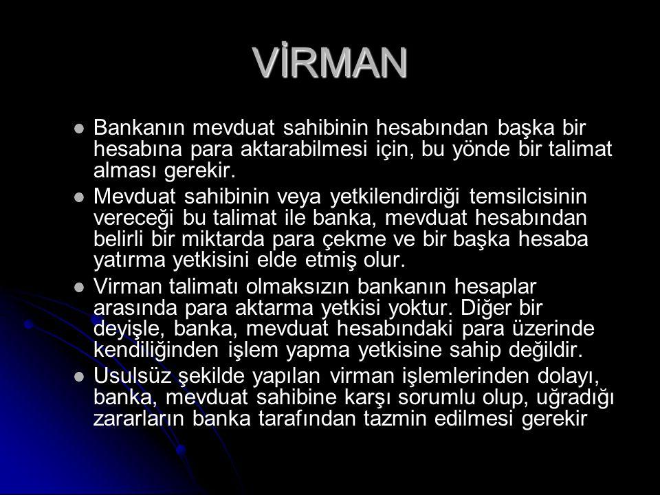 ELEKTRONİK BANKACILIK HİZMETLERİ 1.Telefon Bankacılığı 2.
