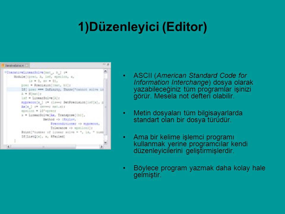 ASCII (American Standard Code for Information Interchange) dosya olarak yazabileceğiniz tüm programlar işinizi görür. Mesela not defteri olabilir. Met