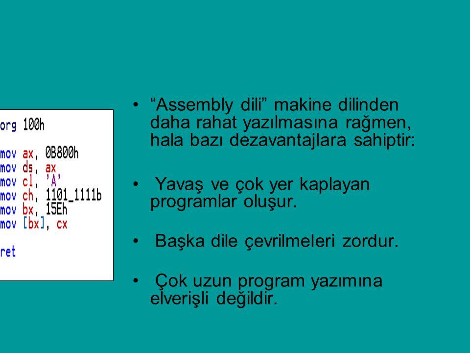 Algoritma Komutları Bazı temel sahte kod komutları şunlardır: Başla : Programın başladığını ifade eder.