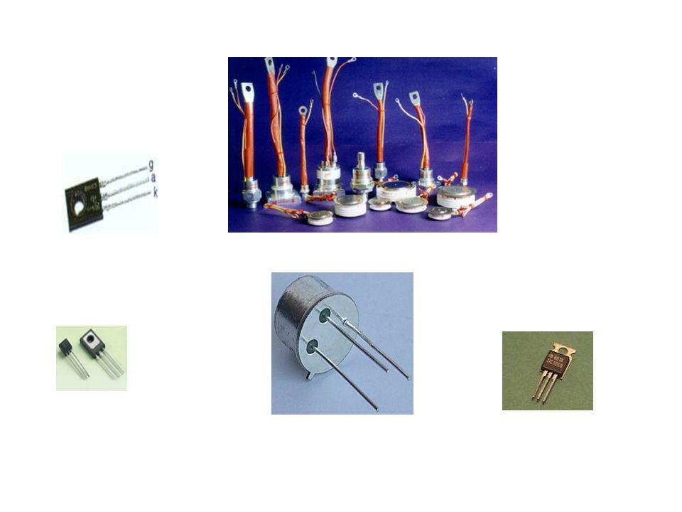 1.2.2 Tristörün Çalışması ve Akım-Gerilim Eğrisi Tristör devrede kullanılırken Anoduna pozitif, katoduna ise negatif gerilim uygulanır.