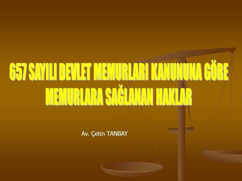 Av. Çetin TANBAY