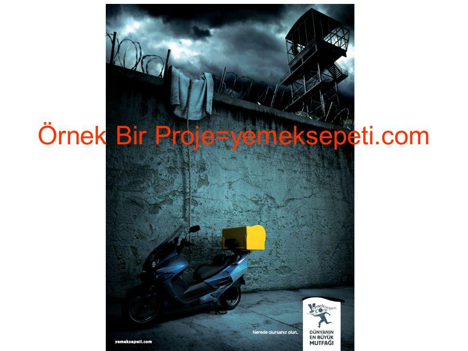 Örnek Bir Proje=yemeksepeti.com