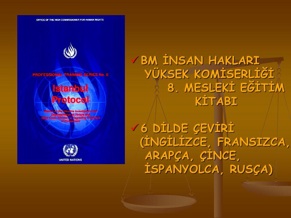 BM İNSAN HAKLARI BM İNSAN HAKLARI YÜKSEK KOMİSERLİĞİ YÜKSEK KOMİSERLİĞİ 8.