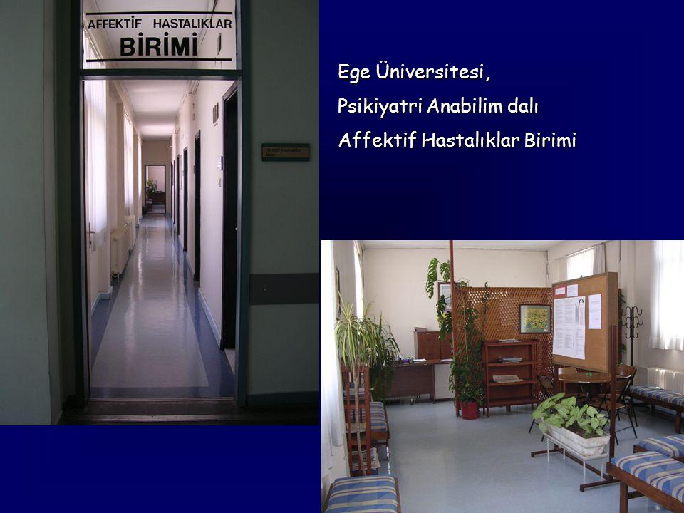 Ege Üniversitesi, Psikiyatri Anabilim dalı Affektif Hastalıklar Birimi