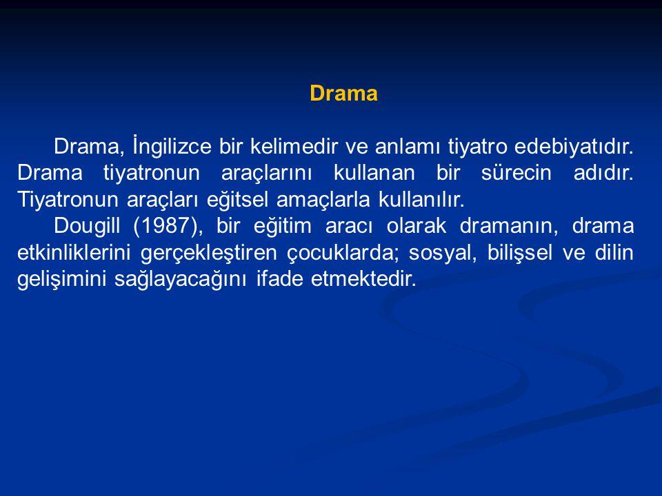 Drama Drama, İngilizce bir kelimedir ve anlamı tiyatro edebiyatıdır.