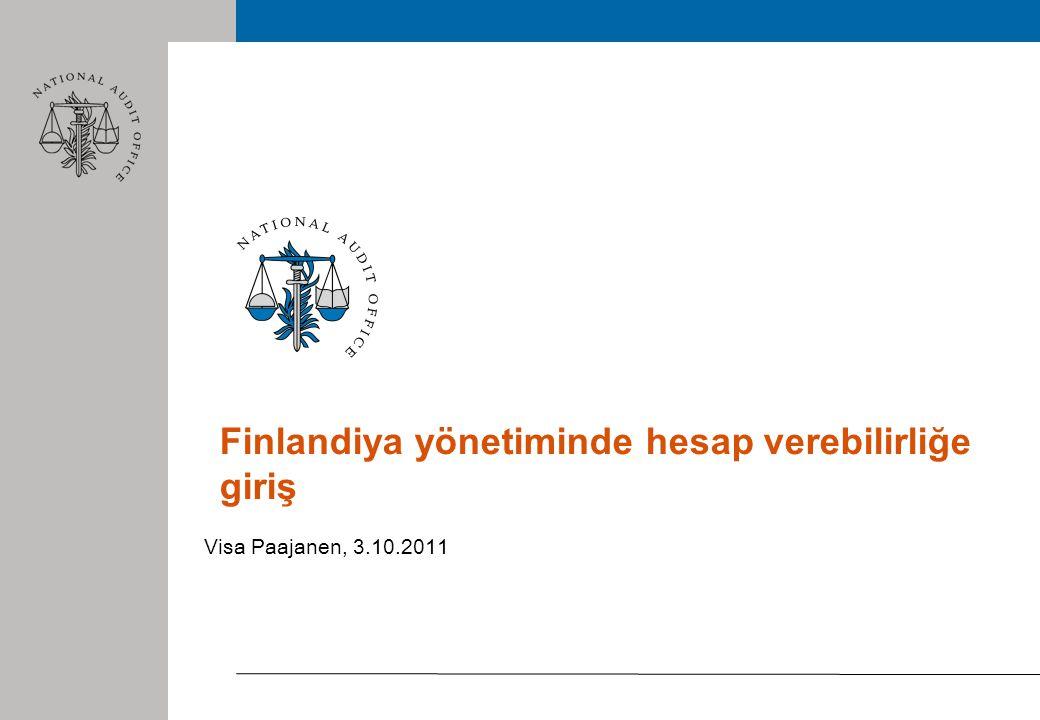 Finlandiya yönetiminde hesap verebilirliğe giriş Visa Paajanen, 3.10.2011