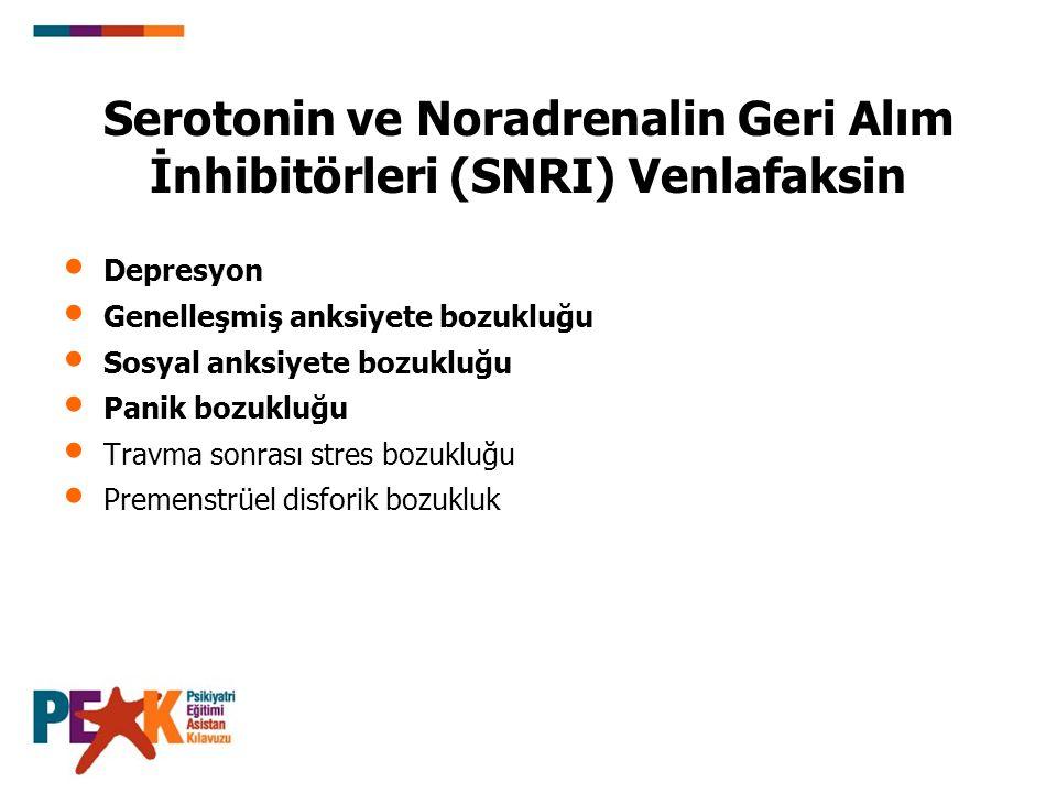 (Venlafaksin Devam) Farmakokinetik: Ana ilacın yarı ömrü 3-7 saat, aktif metabolitin yarı ömrü 9-13 saattir.