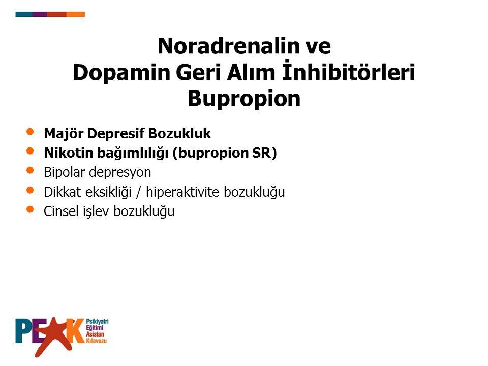 (Bupropion Devam) Farmakokinetik: CYP450 2D6 yı inhibe eder.