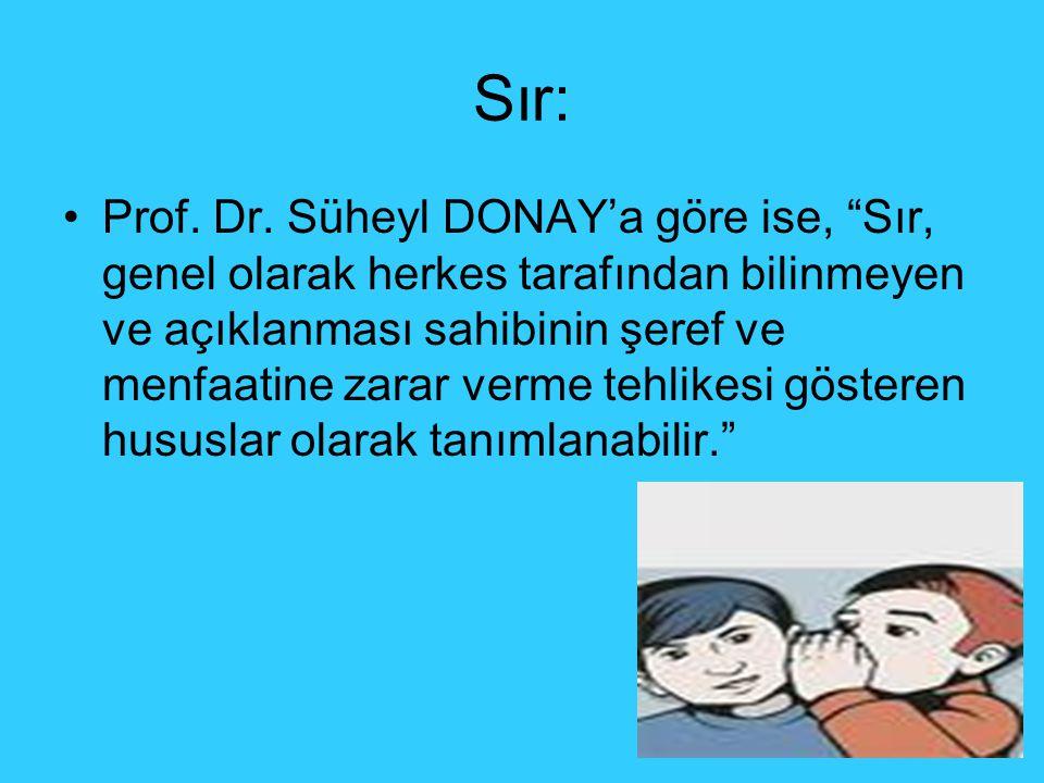 Sır: Prof.Dr.