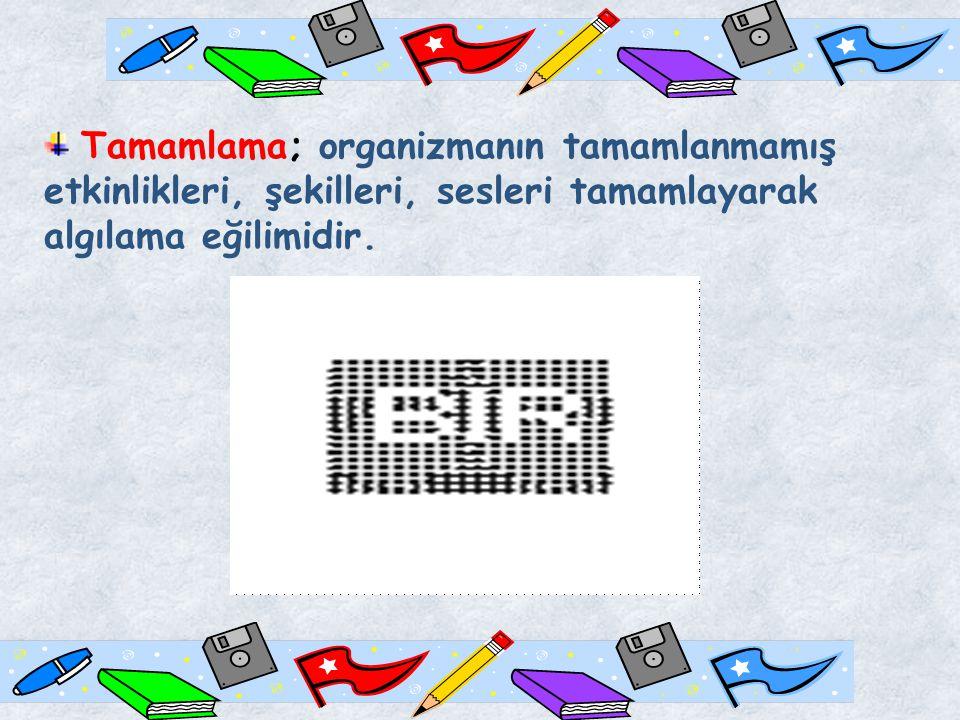 ŞEKİL-FORM Şekil; bir yüzey üzerinde oluşturulan iki boyutlu biçimdir.