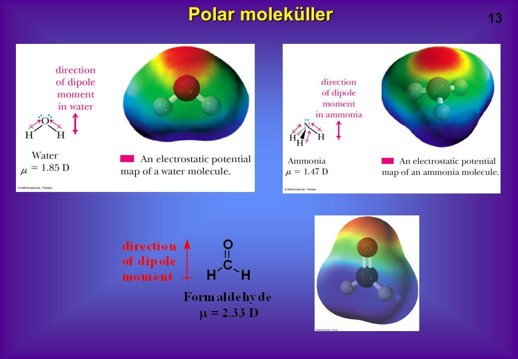 13 Polar moleküller