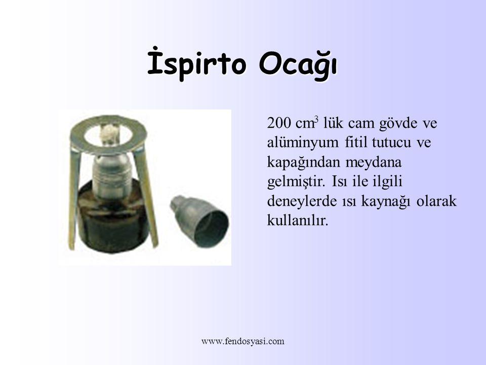 www.fendosyasi.com İspirto Ocağı 200 cm 3 lük cam gövde ve alüminyum fitil tutucu ve kapağından meydana gelmiştir.