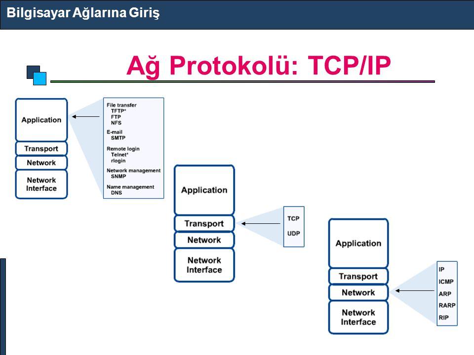 Ağ Protokolü: TCP/IP Bilgisayar Ağlarına Giriş
