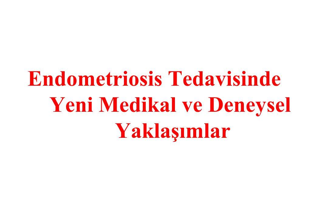Endometriosis Tedavisinde Yeni Medikal ve Deneysel Yaklaşımlar