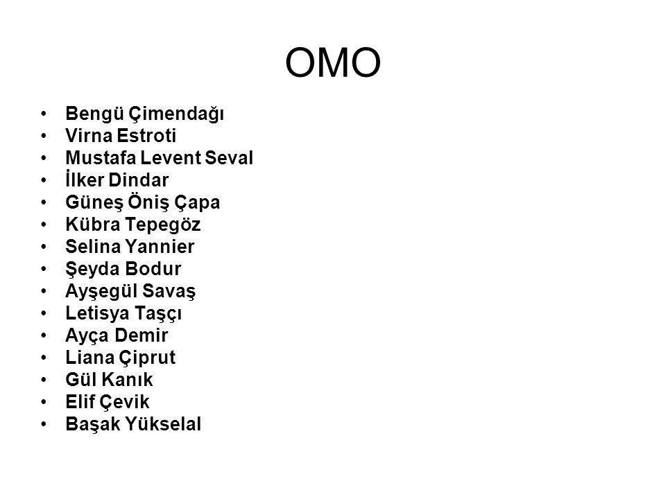 Promosyon OMO paketleriyle beraber –Boya –Oyun hamuru