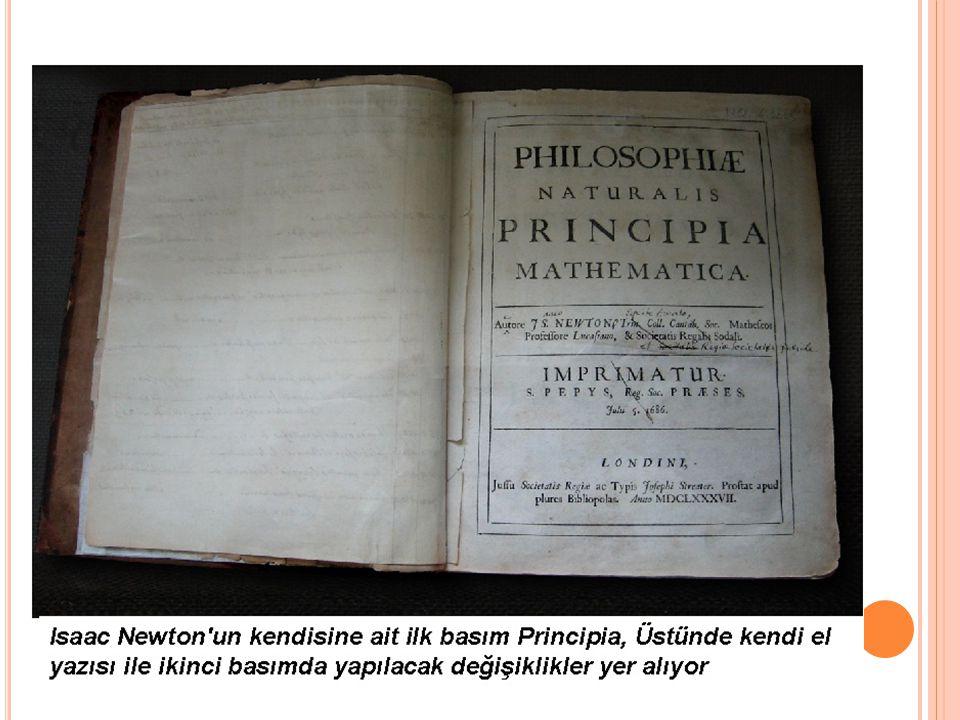 3) Etki Tepki Kanunu Evrendeki bütün kuvvetler kendi zıttı ile birlikte varolur.