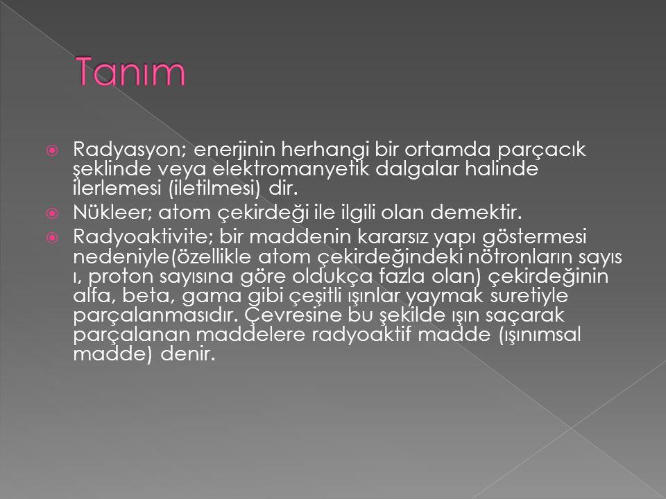 RADYASYON YARALANMALARI - IŞINLAMA - 33