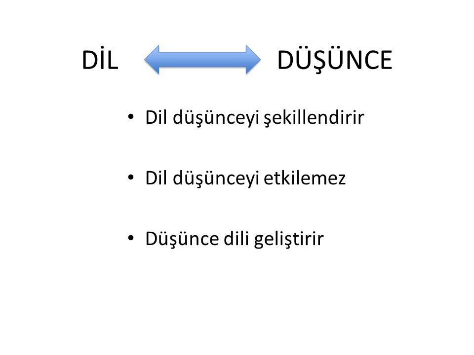 Dil: Hiyerarşiktir Kurallara bağlıdır Evrenseldir Kültürler arasıdır.