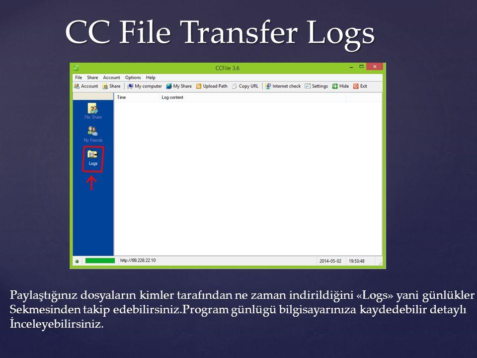 CC File Transfer Platformlar CC File Transfer ile Windows tan Linux a dosya transferini bile gerçekleştirebilirsiniz.
