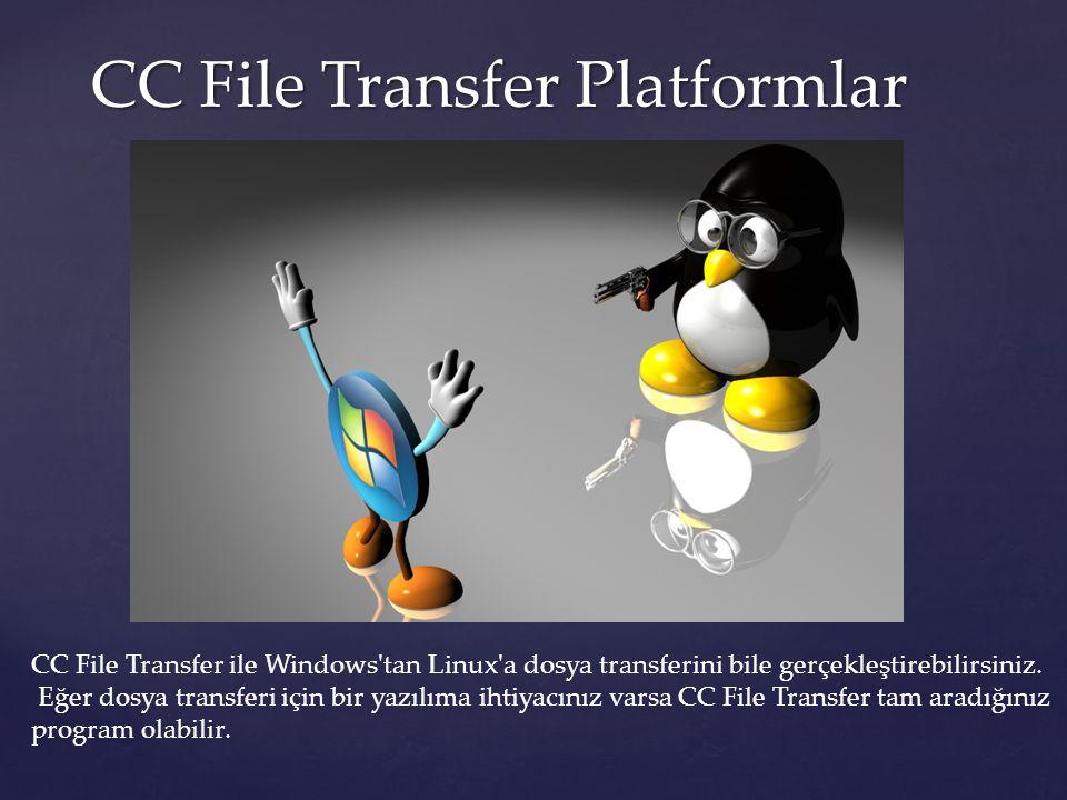 Cyberduck Cyberduck Cyberduck Macintosh işletim sistemi için kullanılabilecek açık kaynak kodlu bir FTP/SFTP yazılımıdır.Daha sonradan Windows işletim sistemleri için yeni sürümleri Çıkarılmış olan program Windows'ta ücretli olarak satışa sunulmuştur.