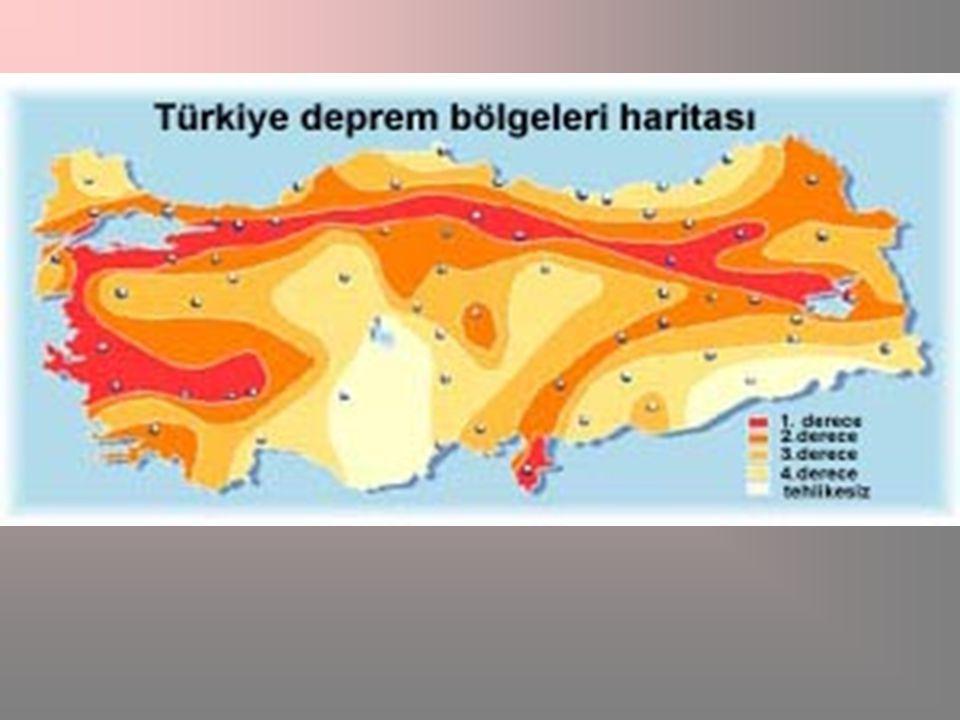 Pasific Ateş Çemberi Rift Akdeniz Kuşağı Atlas Oky. Orta Sırtı