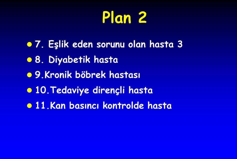Plan 2 l 7. Eşlik eden sorunu olan hasta 3 l 8.