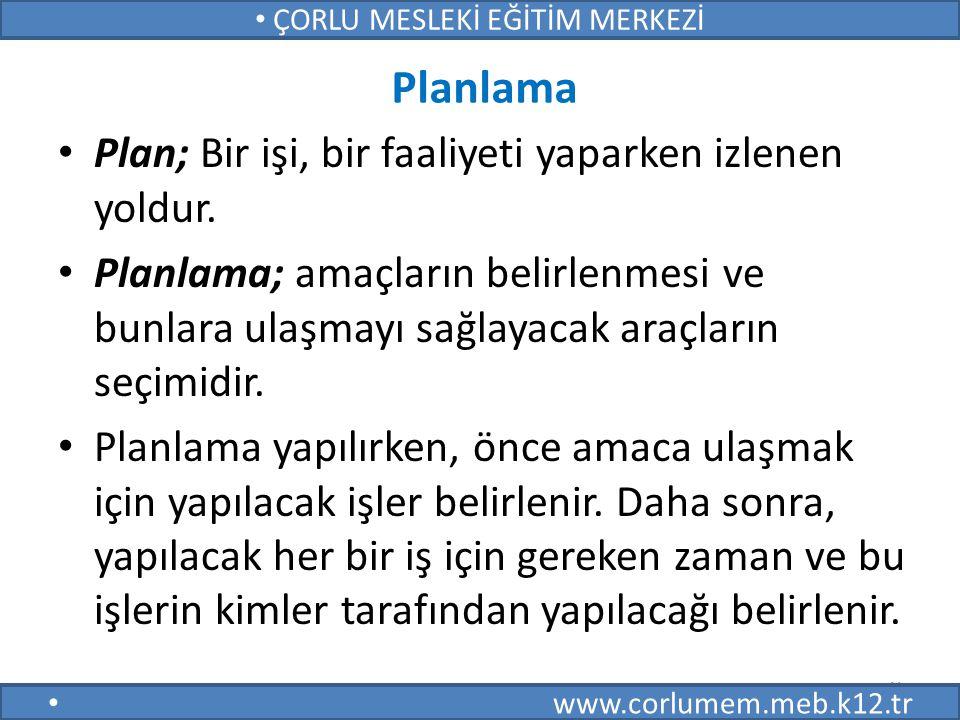 40 ÇORLU MESLEKİ EĞİTİM MERKEZİ www.corlumem.meb.k12.tr